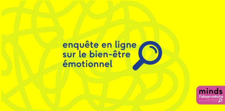 Participez à une enquête sur la santé mentale et le bien-être émotionnel